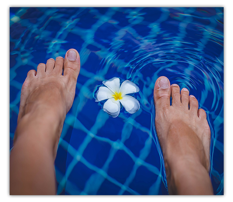 hydrotherapy feet soak